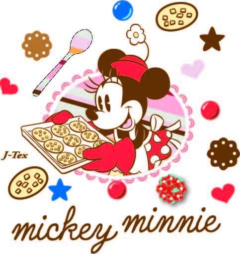 卡通动漫米妮字母食物印花矢量图服装裁片T恤烫图印花花型素材-POP花型网