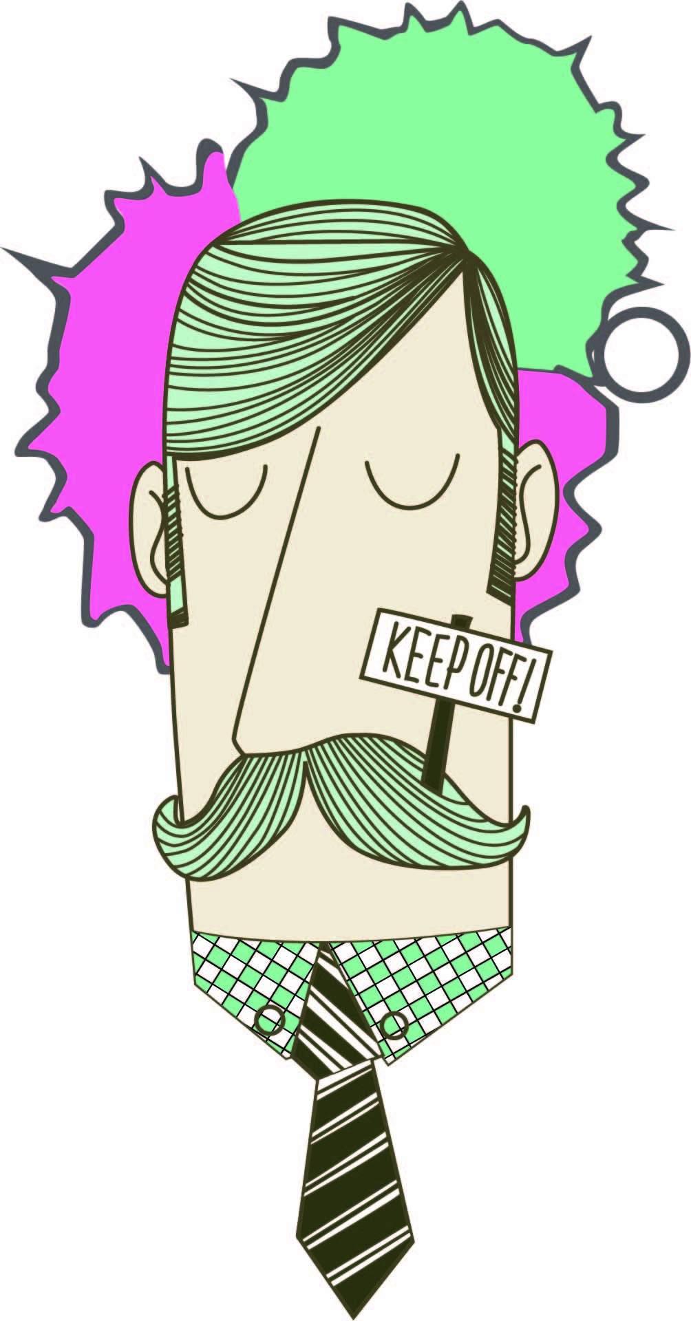 卡通人物字母印花矢量图服装裁片T恤烫图印花花型素材-POP花型网