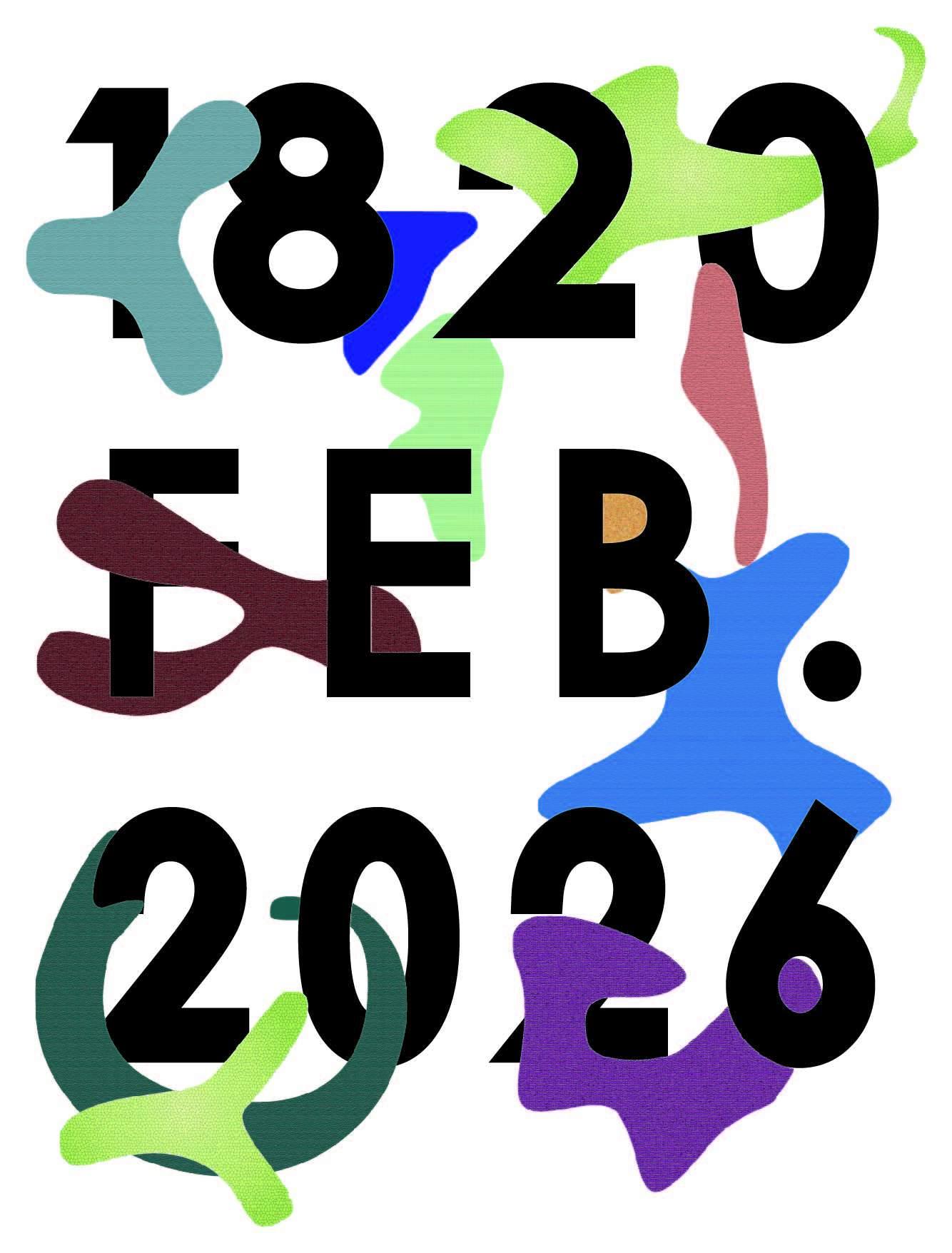 字母数字涂鸦印花矢量图服装裁片T恤烫图印花花型素材-POP花型网