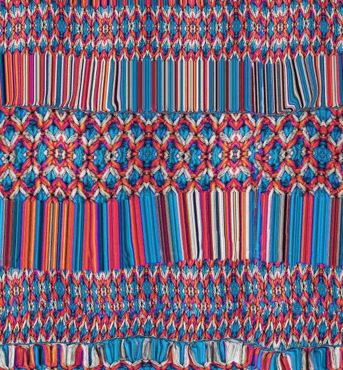 几何色彩图案印花服装纺织面料数码印花图案-POP花型网