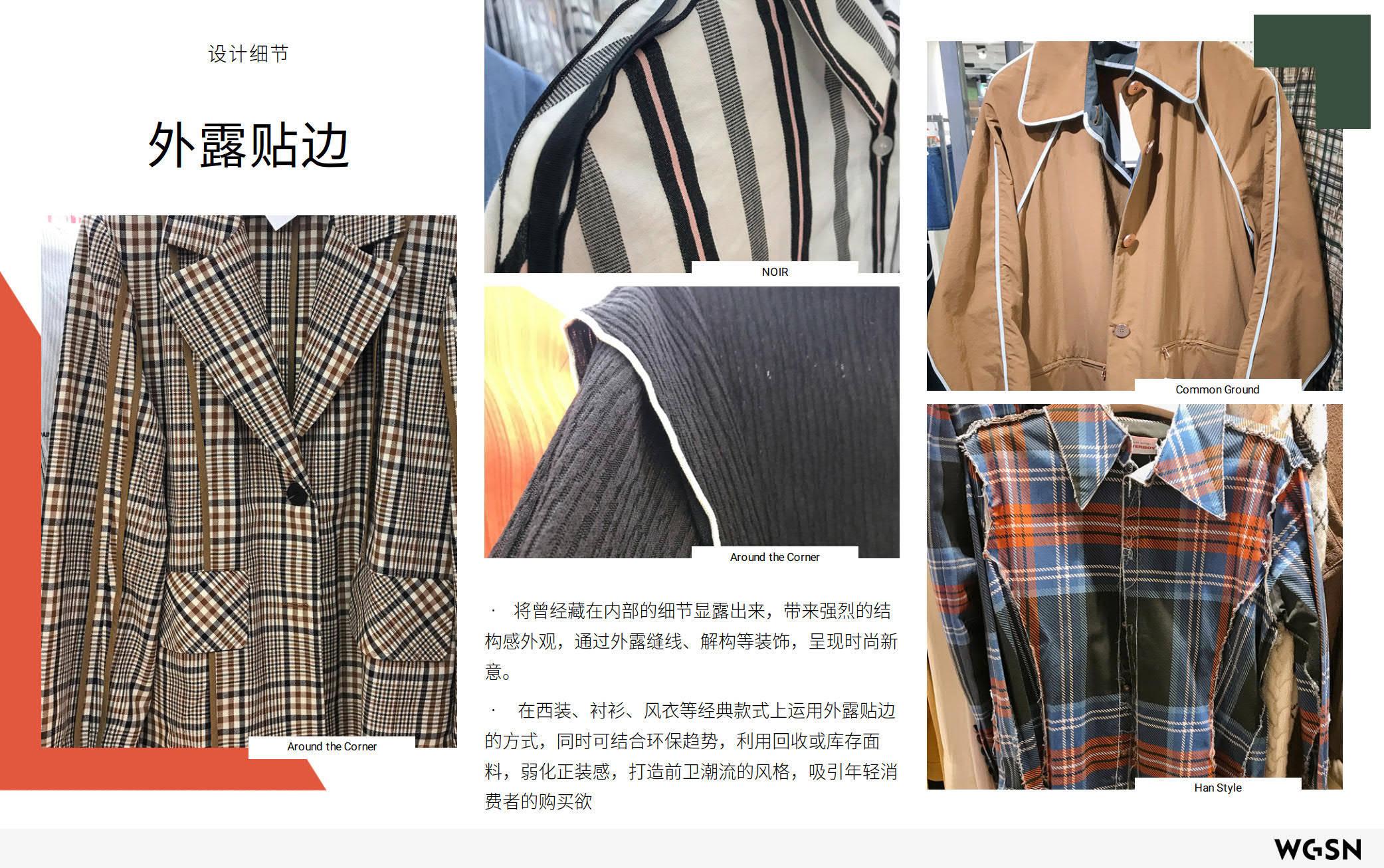 2019秋冬韩国女装零售分析:设计细节&面料-POP花型网