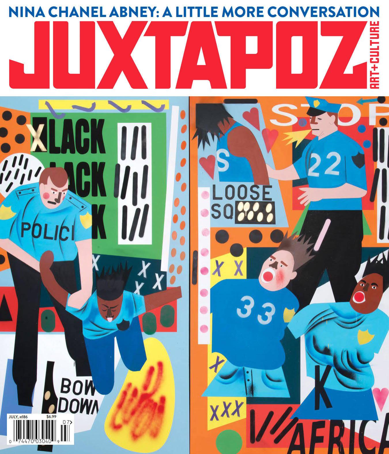 Juxtapoz艺术与文化杂志-POP花型网