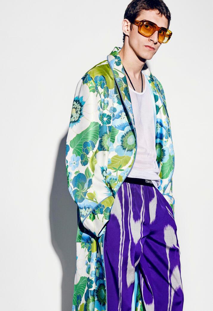 色彩趋势   从阴霾中散出光芒的2021春夏流行色(伦敦时装周)-POP花型网