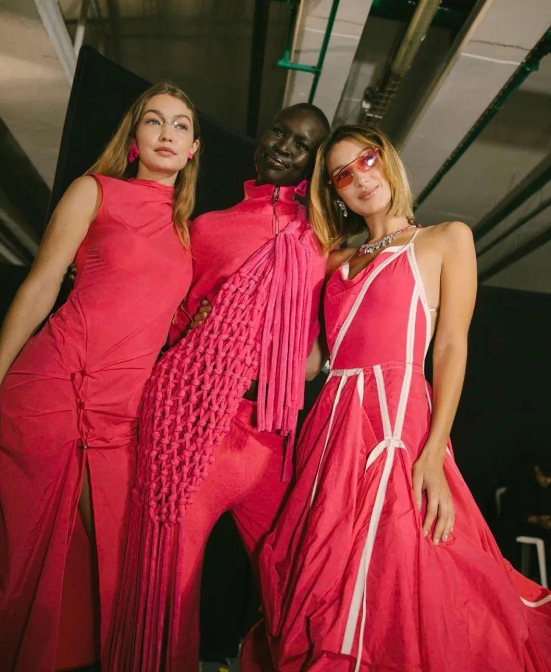 流行色丨典雅又明快的玫红色,妩媚俏丽却并不轻浮,美艳张扬又不流俗-POP花型网
