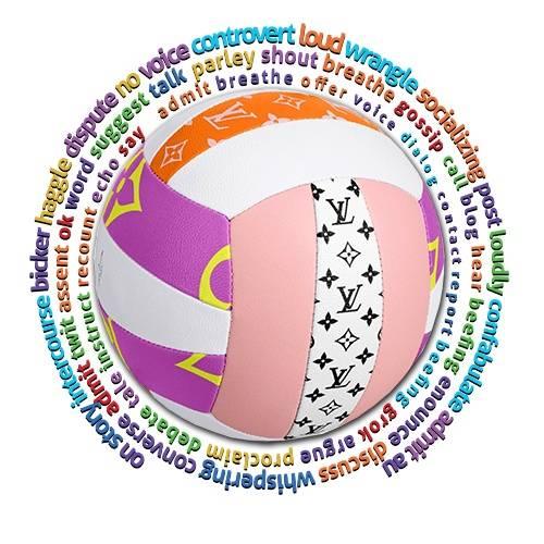 排球字母拼接印花矢量图服装裁片T恤烫图印花花型素材-POP花型网