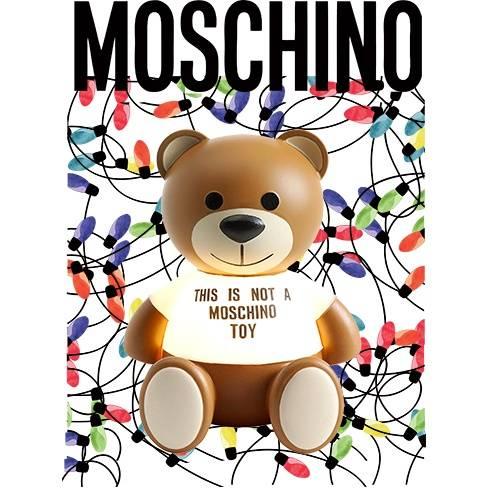 卡通动漫MOSCHINO熊几何线条拼接潮牌印花矢量图服装裁片T恤烫图印花花型素材-POP花型网