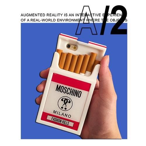 字母数字香烟MOSCHINO潮牌印花矢量图服装裁片T恤烫图印花花型素材-POP花型网
