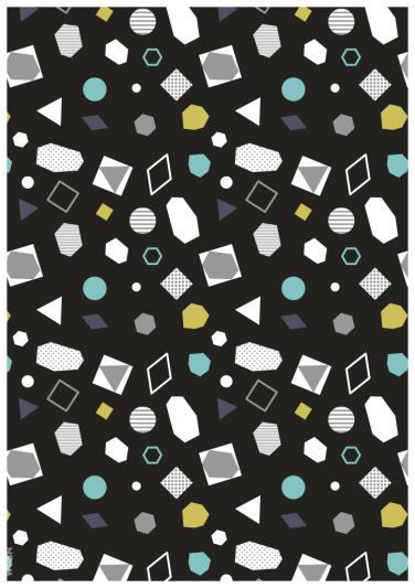 几何图案方块印花矢量图服装纺织数码印花素材-POP花型网