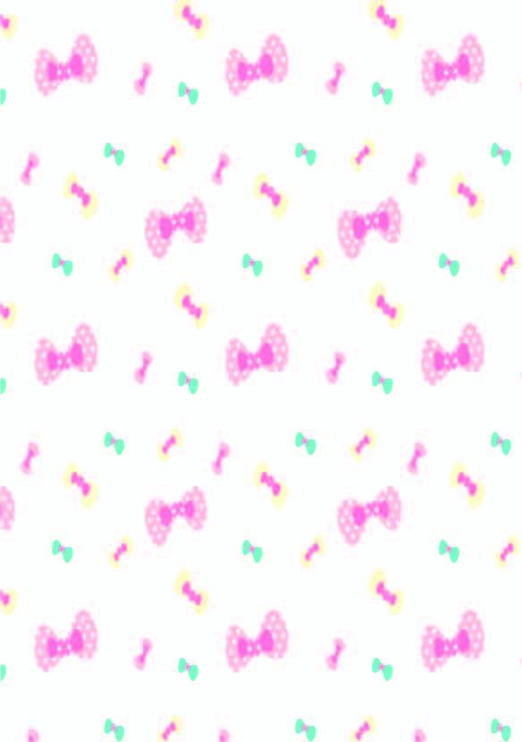 几何图案蝴蝶结印花矢量图服装纺织数码印花素材-POP花型网