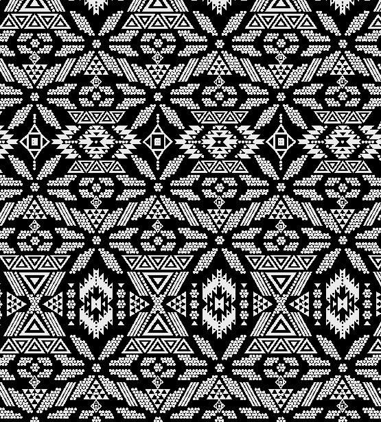 几何图案花纹拼接印花矢量图服装纺织水印数码印花金昌花型素材-POP花型网