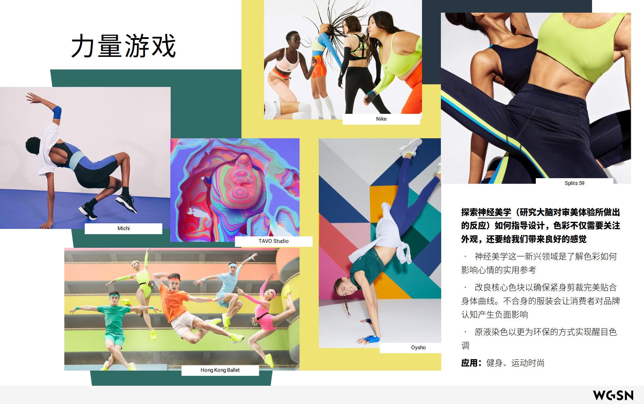 2021年春夏运动风格趋势概念:炫境-POP花型网