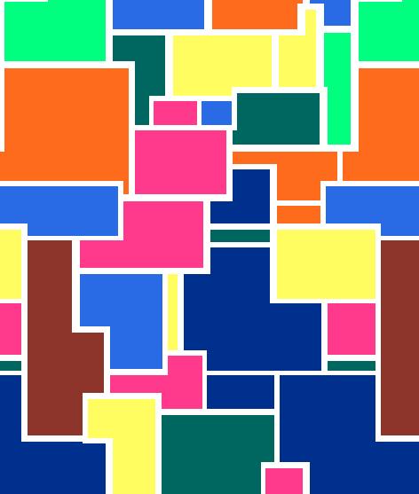 色彩几何图案拼接印花矢量图服装纺织水印数码印花金昌花型素材-POP花型网