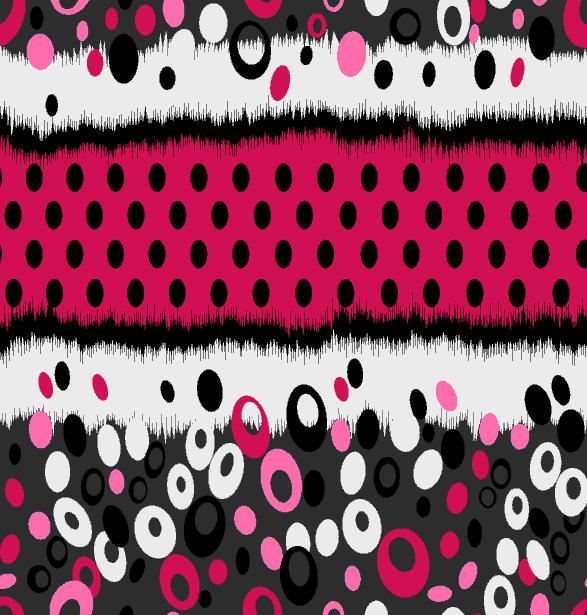 几何色彩图案圆点印花矢量图服装纺织水印数码印花金昌花型素材-POP花型网