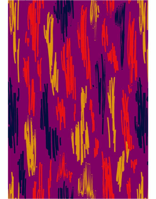几何线条涂鸦印花矢量图服装纺织数码印花花型素材-POP花型网