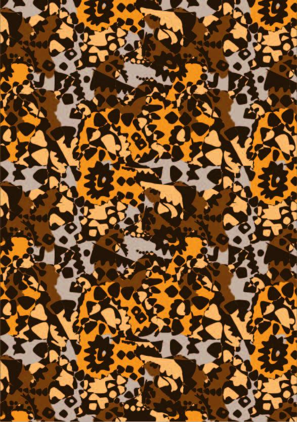 几何花纹图案印花矢量图服装纺织数码印花花型素材-POP花型网