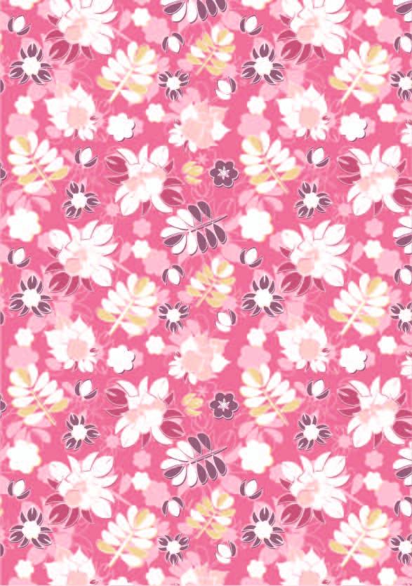 植物小花朵印花矢量图服装纺织数码印花花型素材-POP花型网