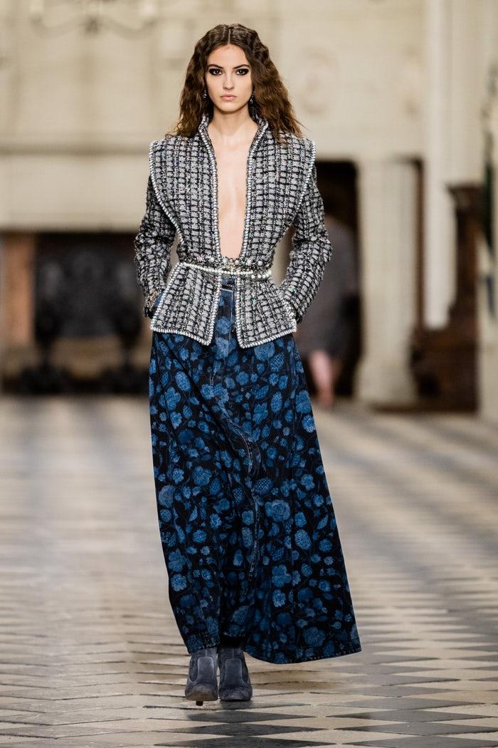 2021年秋季Chanel香奈儿时装秀-POP花型网