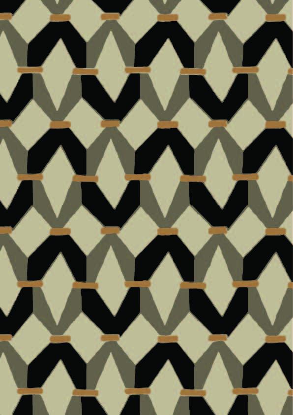 多边形几何图案拼接印花矢量图服装纺织数码印花花型素材-POP花型网