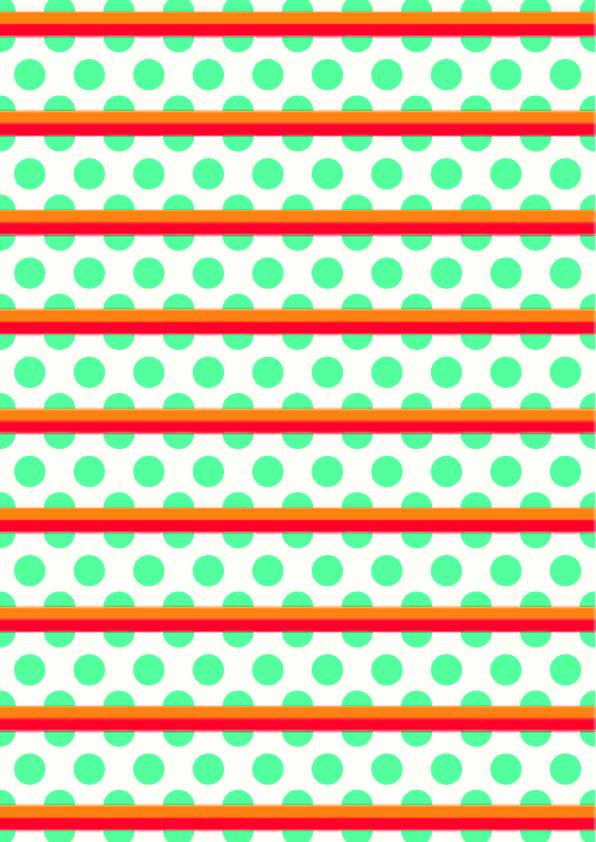 几何条子圆点拼接印花矢量图服装纺织数码印花花型素材-POP花型网