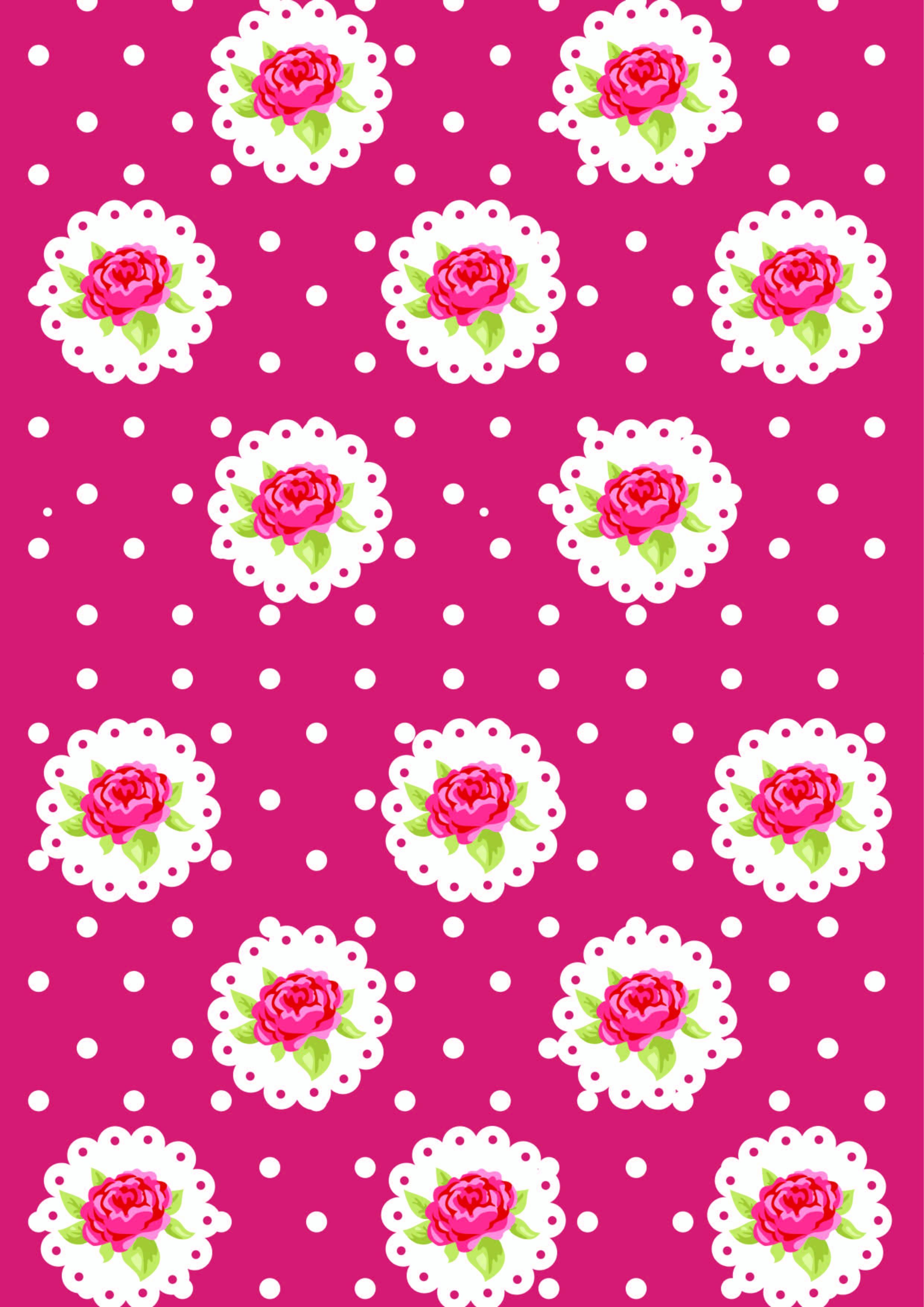 植物花纹玫瑰花拼接印花矢量图服装纺织数码印花花型素材-POP花型网