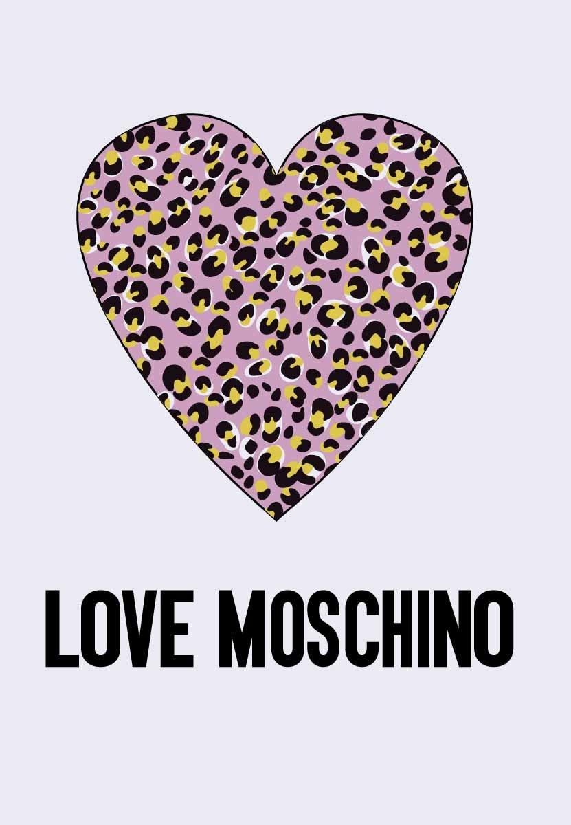几何豹纹爱心字母MOSCHINO潮牌印花矢量图服装裁片T恤烫图印花花型素材-POP花型网