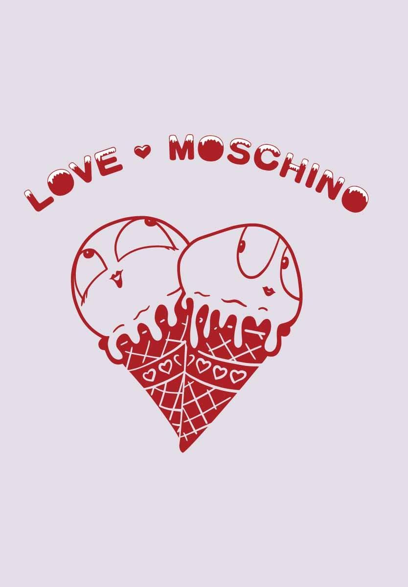 卡通雪糕字母MOSCHINO印花矢量图服装裁片T恤烫图印花花型素材-POP花型网