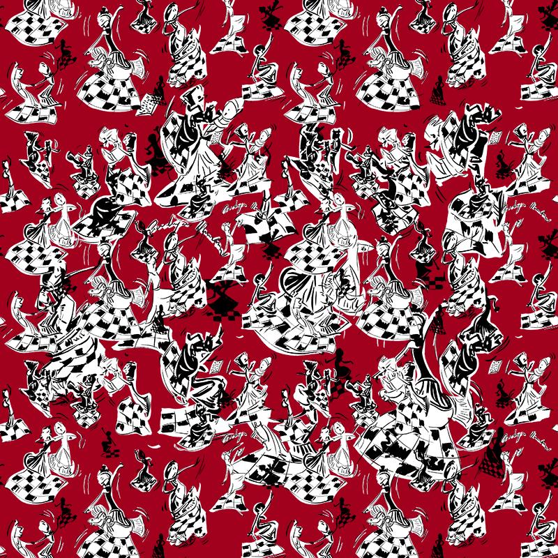 几何人物花纹印花矢量图服装纺织数码印花花型素材-POP花型网
