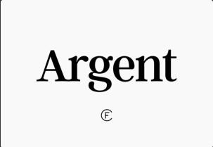 Argent CF英文字体-POP花型网