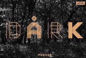 Moku26英文字体-POP花型网