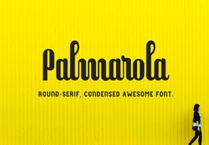 Palmarola Font英文字体-POP花型网