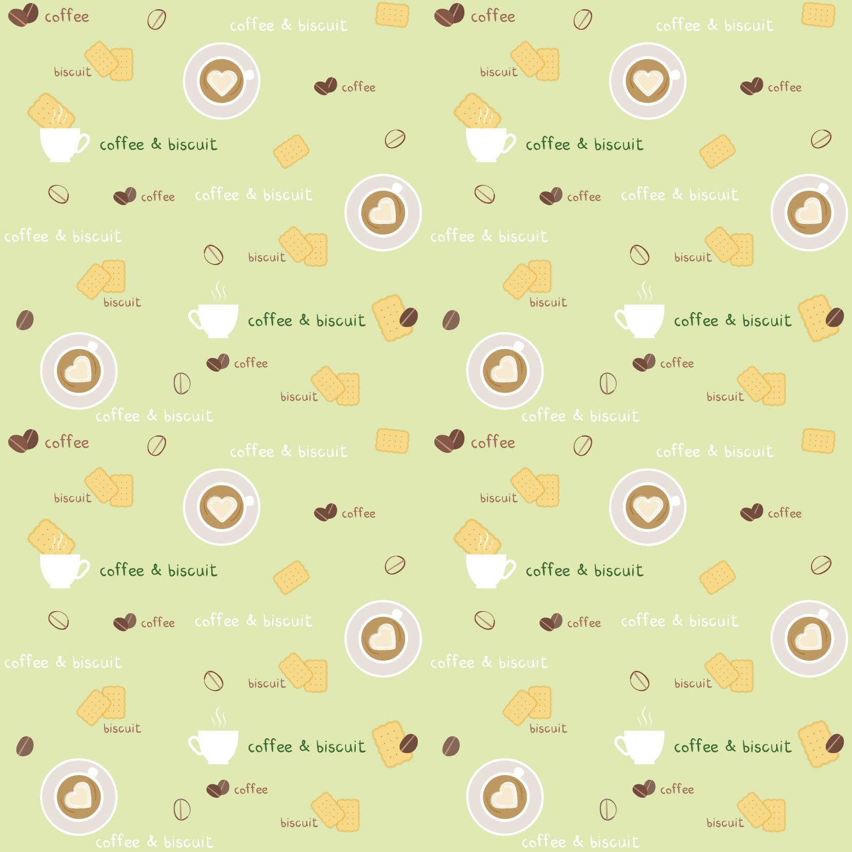 饼干字母爱心图案印花矢量图服装纺织数码印花花型素材-POP花型网