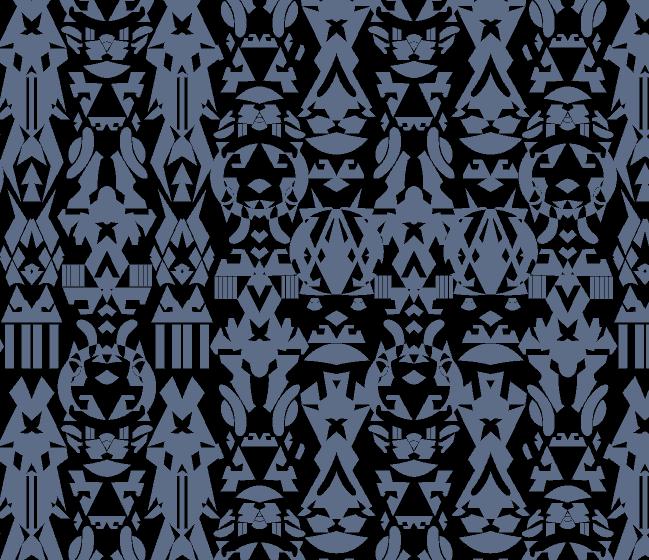 几何图案金昌分色稿服装纺织水印数码印花花型素材-POP花型网