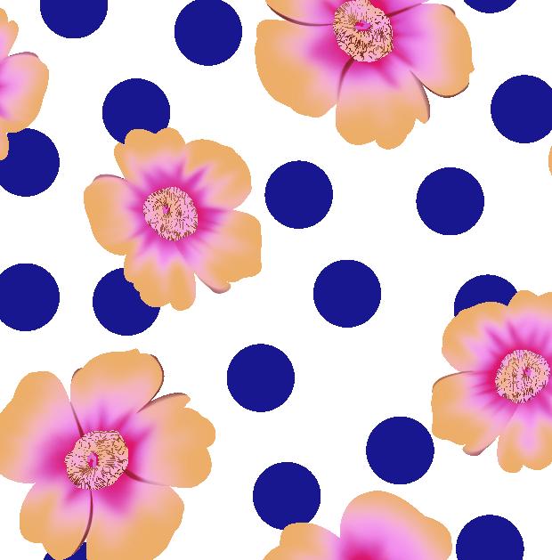几何圆点植物花朵金昌分色稿服装纺织水印数码印花花型素材-POP花型网