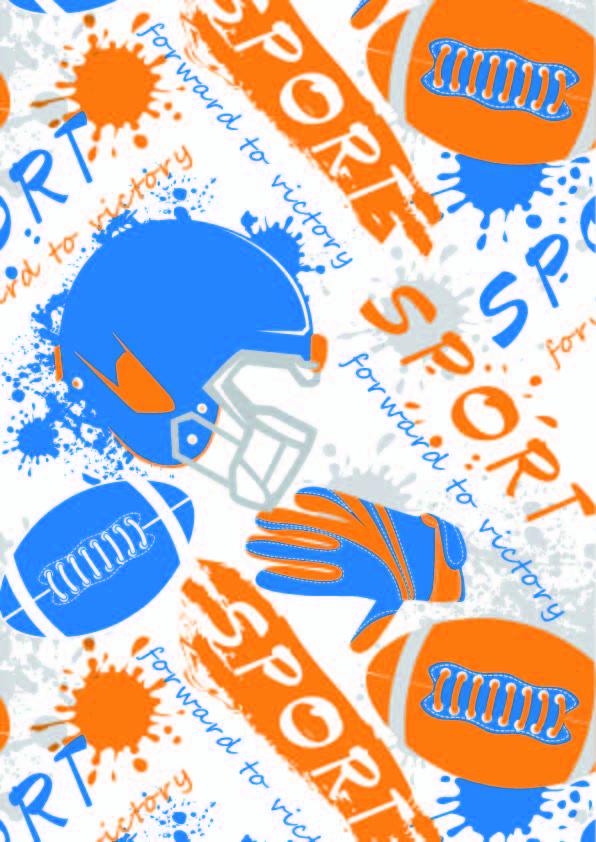 运动风几何涂鸦棒球印花矢量图服装纺织数码印花花型素材-POP花型网