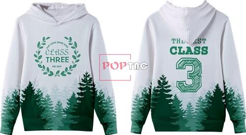 森林树叶字母印花图案服装裁片T恤卫衣班服全身印印花素材-POP花型网