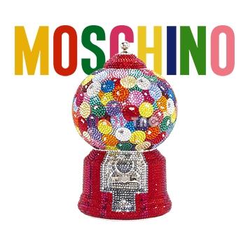 字母潮牌MOSCHINO玩具机印花图案服装裁片T恤卫衣烫图印花花型素材-POP花型网