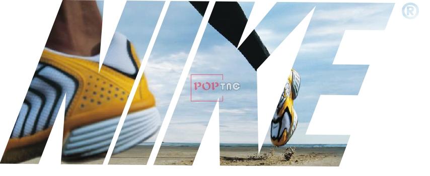 潮牌NIKE字母印花图案服装裁片T恤卫衣烫图印花花型素材-POP花型网