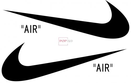 潮牌NIKE耐克AIR印花图案服装裁片T恤卫衣烫图印花花型素材-POP花型网