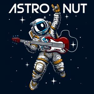卡通贝斯手太空人字母印花图案服装裁片T恤卫衣烫图印花花型素材-POP花型网