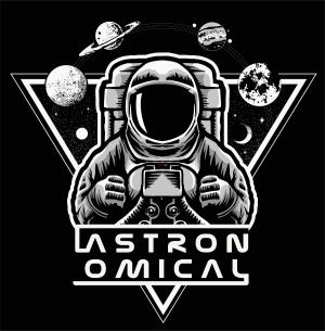 太空人字母天体印花图案服装裁片T恤卫衣烫图印花花型素材-POP花型网