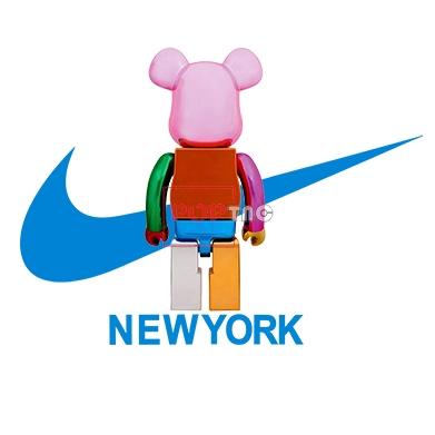 卡通动漫潮牌暴力熊耐克NIKE印花图案服装裁片T恤卫衣烫图印花花型素材-POP花型网