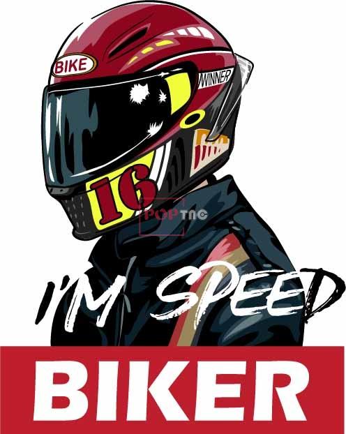 摩托车赛车手头盔字母印花图案服装裁片T恤卫衣烫图印花花型素材-POP花型网
