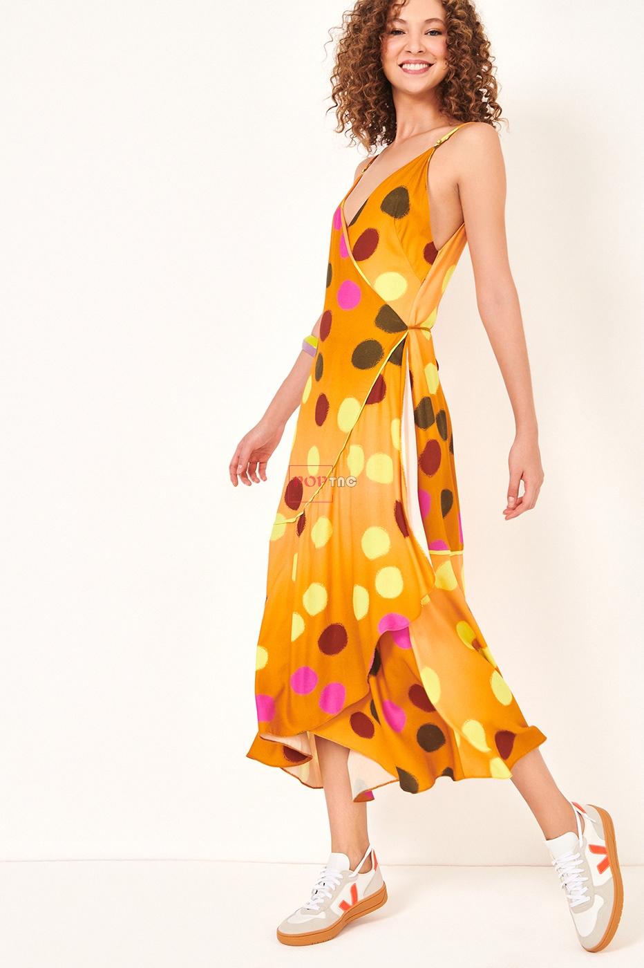 Dress to/ Inverno连衣裙印花设计-POP花型网