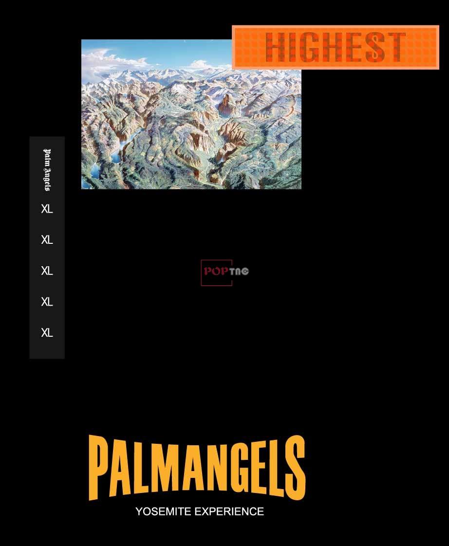 PALM ANGELS景观地图艺术家 H. C. Berann印花图案服装裁片T恤卫衣烫图印花花型素材-POP花型网