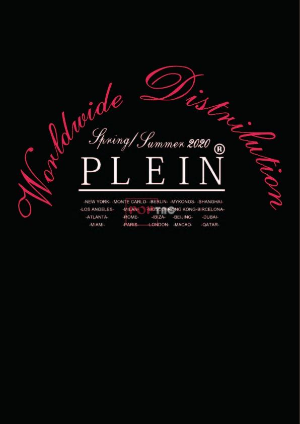 PHILIPP PLEIN字母元素印花图案服装裁片T恤卫衣烫图印花花型素材-POP花型网