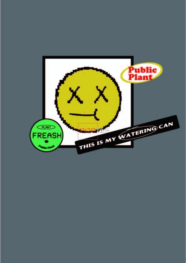 趣味徽章字母印花图案服装裁片T恤卫衣烫图印花花型素材-POP花型网