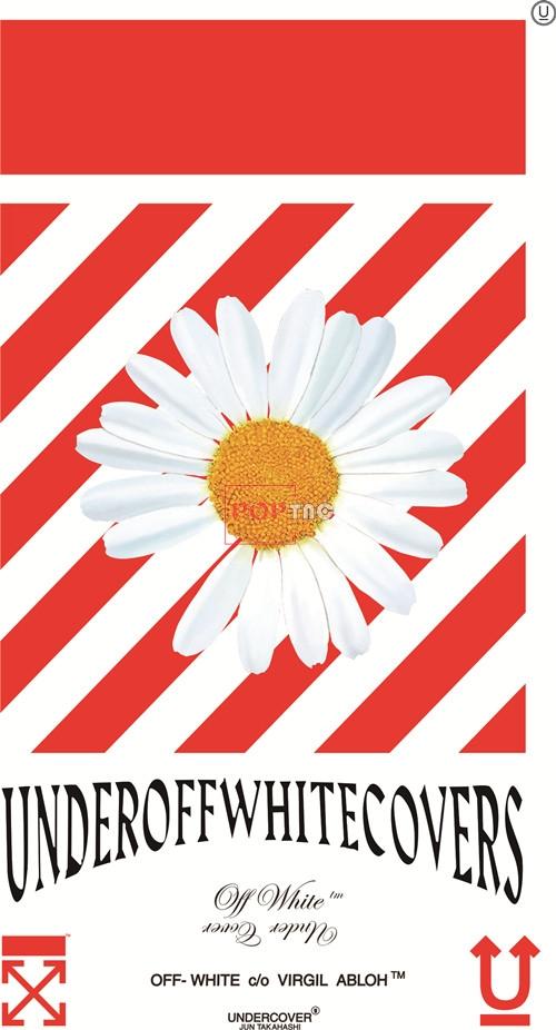 植物花朵小邹菊字母印花图案服装裁片T恤卫衣烫图印花花型素材-POP花型网