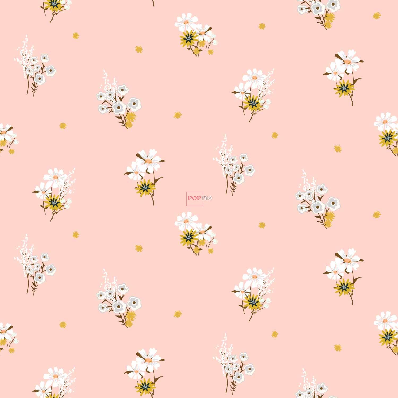 植物花朵小邹菊印花图案服装纺织数码印花花型素材-POP花型网