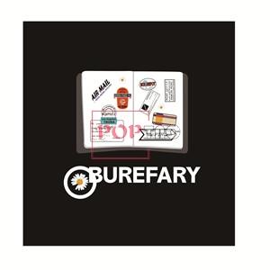 字母图案Burberry小雏菊印花服装裁片T恤卫衣烫图印花花型素材-POP花型网