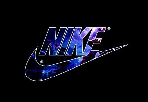耐克字母NIKE印花图案服装T恤裁片烫图印花花型素材-POP花型网